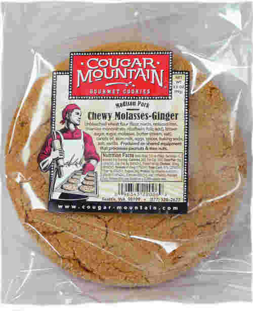 Chewy Molasses-Ginger - 3.5 oz (6-pk)
