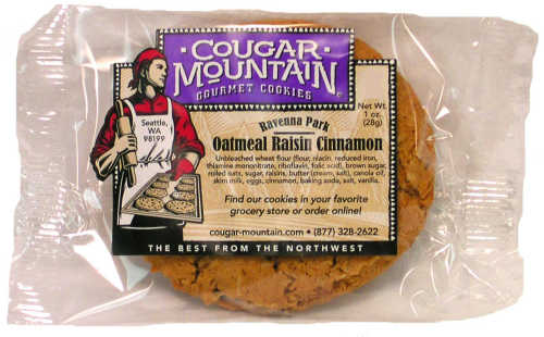 Oatmeal Raisin Cinnamon - 1.0 oz (20-pk)